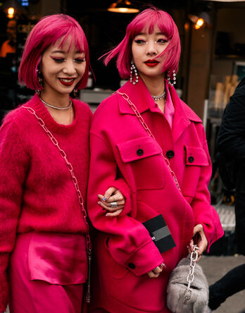 THE EVERGREEN CHARM OF...PINK