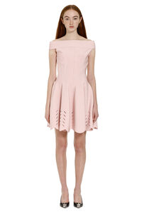 Cut-out detail knit dress, Mini dresses Alexander McQueen woman