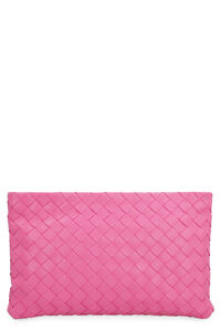 Intrecciato Nappa flat pouch, Break routine, in the sign of style! Bottega Veneta woman