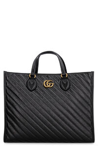 GG Marmont quilted leather tote, Tote bags Gucci woman