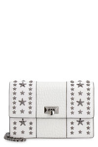 Pyxis croco-print leather clutch, Clutch Jimmy Choo woman