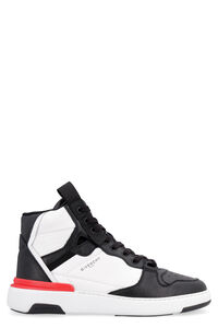 Wing leather high-top sneakers, High Top Sneakers Givenchy man