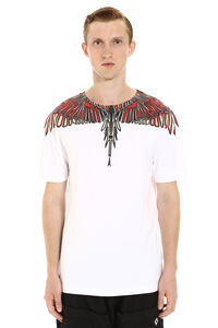 Printed cotton t-shirt, Short sleeve t-shirts Marcelo Burlon County of Milan man