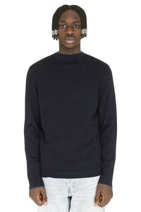 Wool pullover, Turtleneck Z Zegna man