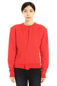 Cotton crew-neck sweatshirt, Sweatshirts Unravel Project woman