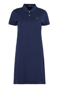 Cotton-piqué polo-shirt dress, Mini dresses Polo Ralph Lauren woman