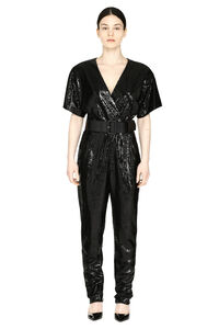 Sequin jumpsuit, Evening jumpsuits Parosh woman