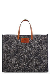 Old School canvas tote bag, Tote bags Etro woman