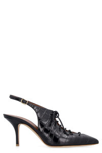Alessandra leather slingback pumps, Mid Heels Malone Souliers woman