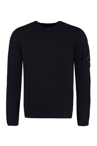 Ribbed wool sweater, Crew necks sweaters C.P. Company man