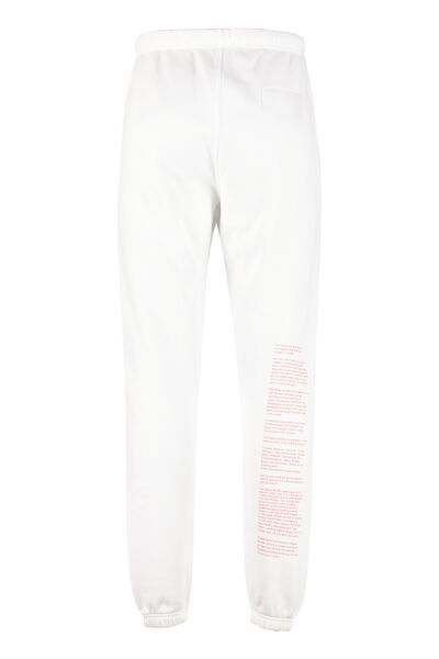 Nasa stretch cotton track-pants