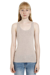 Nora knitted silk-cachemire blend top, Tanks and Camis Max Mara woman