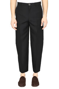 Cropped trousers, Casual trousers Balenciaga man