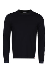 Cotton crew-neck sweater, Crew necks sweaters Moncler man