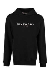 Logo cotton hoodie, Hoodies Givenchy woman