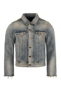 Denim jacket, Denim jackets Saint Laurent man