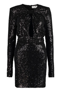 Sequined mini-dress, Gowns & Evening dresses Saint Laurent woman