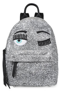 Flirting glitter backpack, Backpack Chiara Ferragni Collection woman