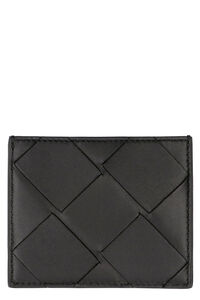 Intrecciato Nappa card holder, Wallets Bottega Veneta man
