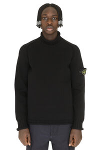 Nylon sweater, Turtleneck Stone Island man
