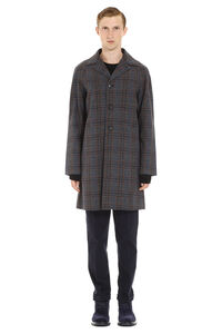 Virgin wool coat, Overcoats Prada man