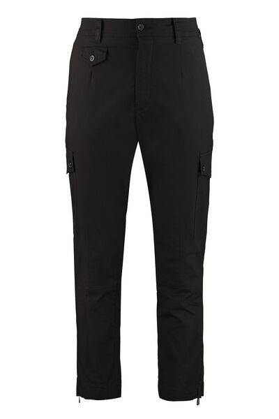 Cotton cargo-trousers