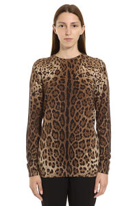 Printed cachemire sweater, Patterned sweaters Dolce & Gabbana woman