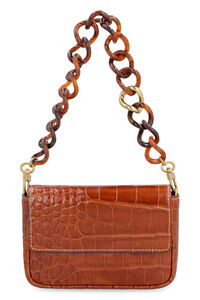 Leather Mini Tommy, Top handle STAUD woman