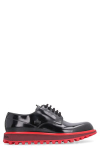 Leather lace-up derby shoes, Formal Shoes Dolce & Gabbana man