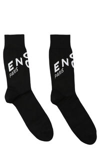 Cotton socks with logo, Socks Givenchy man