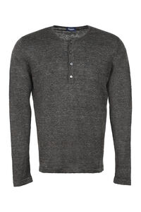 Linen sweater, Crew necks sweaters Drumohr man