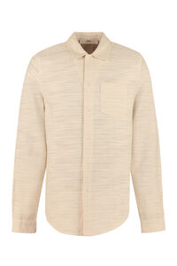Leo cotton shirt, Plain Shirts Séfr man
