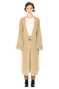 Oversized mohair wool cardigan, Cardigan L'Autre Chose woman