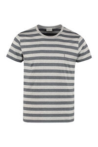 Stretch cotton T-shirt, Short sleeve t-shirts Saint Laurent man