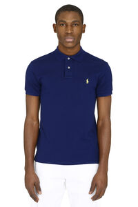 Stretch cotton piqué polo shirt, Short sleeve polo shirts Polo Ralph Lauren man