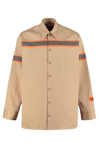 Cotton twill shirt, Plain Shirts Heron Preston man