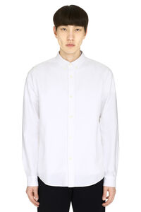 Oxford cotton shirt, Plain Shirts A.P.C. man