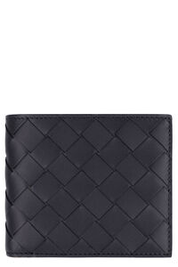 Intrecciato flap-over wallet, Wallets Bottega Veneta man