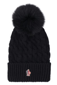 Pom pom beanie, Hats Moncler Grenoble woman