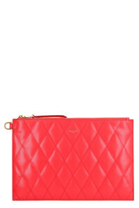 Leather flat pouch, Clutch Givenchy woman