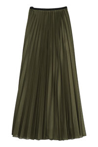 Pleated midi skirt, Pleated skirts Moncler woman