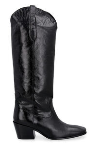 Willa leather boots, Knee-high Boots BY FAR woman