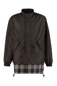 Nylon windbreaker-jacket, Raincoats And Windbreaker MSGM man