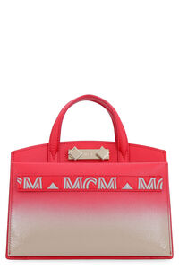 Milano leather mini-bag, Top handle MCM woman