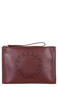 Alter Nappa flat pouch, Clutch Stella McCartney woman