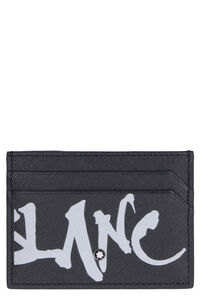 Sartorial leather card holder, Wallets Montblanc man