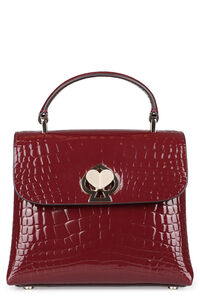 Romy croc-embossed leather handbag, Top handle Kate Spade New York woman