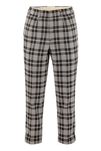 Printed cotton trousers, Casual trousers AMI man