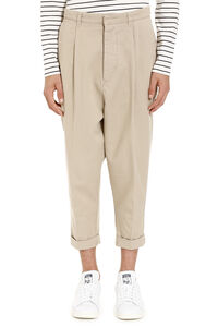 Cotton Chino trousers, Chinos AMI man