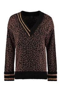 Previsione V-neck sweater, V neck sweaters Pinko woman